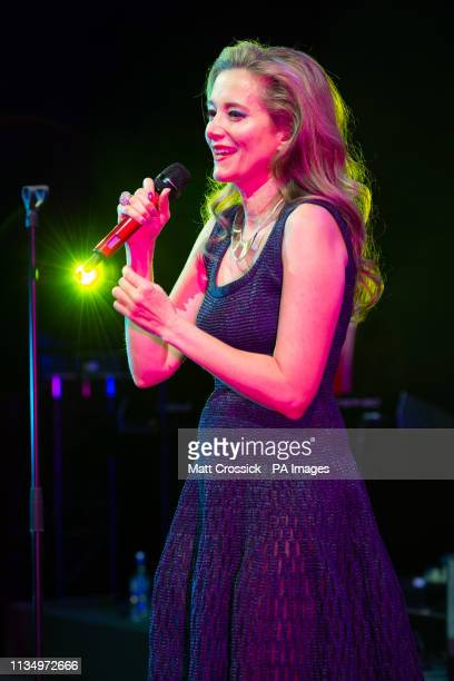 Miel de Botton performing at the launch of her new album 'Surrender to the Feeling' at Lindley Hall in London PRESS ASSOCIATION Photo Picture date...