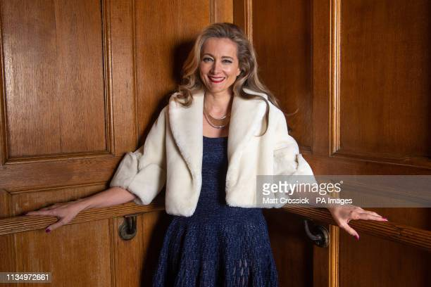 Miel de Botton pictured backstage at the launch of her new album 'Surrender to the Feeling' at Lindley Hall in London PRESS ASSOCIATION Photo Picture...