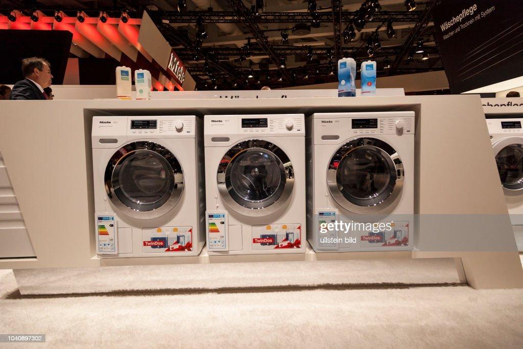 Miele W1 Waschmaschine T1 Classic auf der IFA 2017 in Berlin