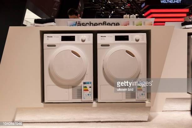 Miele Waschmaschine T1 Classic auf der IFA 2017 in Berlin