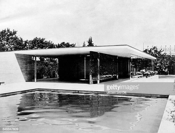 Ludwig Mies Van Der Rohe Stock Photos And Pictures