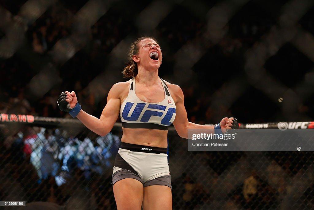 UFC 196: Holm v Tate : News Photo
