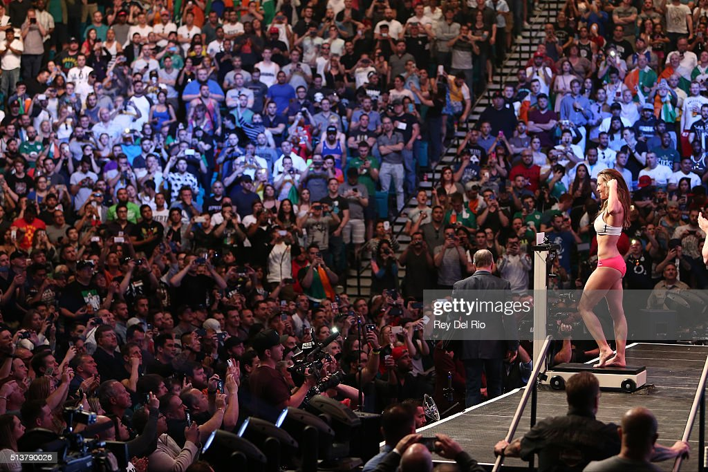 UFC 196 Weighin Photos and Images Getty Images