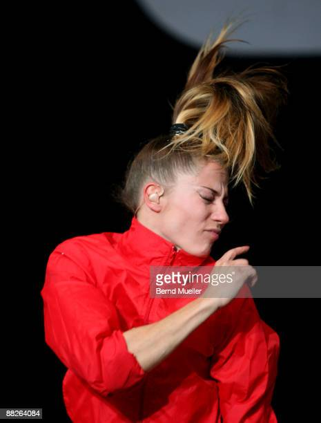 Mieze Katz of MIA perform on stage on day 1 of Rock Im Park at Frankenstadion on June 5 2009 in Nuremberg Germany