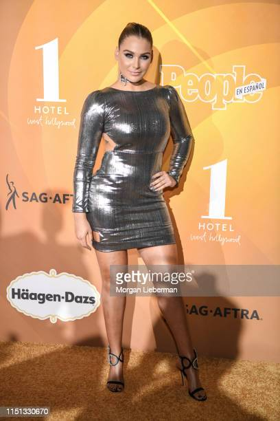 Migbelis Castellanos arrives at People En Español's Most Beautiful Celebration at 1 Hotel West Hollywood on May 23 2019 in West Hollywood California