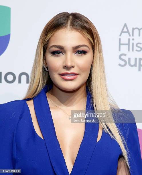 Migbelis Castellanos attends 2019 Univision Upfront at Center415 Event Space on May 13 2019 in New York City