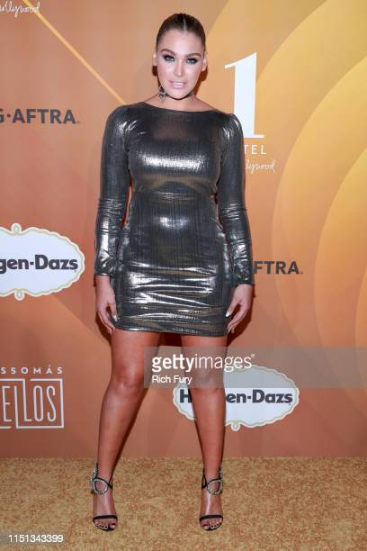 Migbelis Castellanos attends People En Español's Most Beautiful Celebration at 1 Hotel West Hollywood on May 23 2019 in West Hollywood California