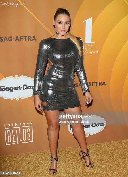 Migbelis Castellanos attends the People En Español's Most Beautiful Celebration at 1 Hotel West Hollywood on May 23 2019 in Los Angeles California