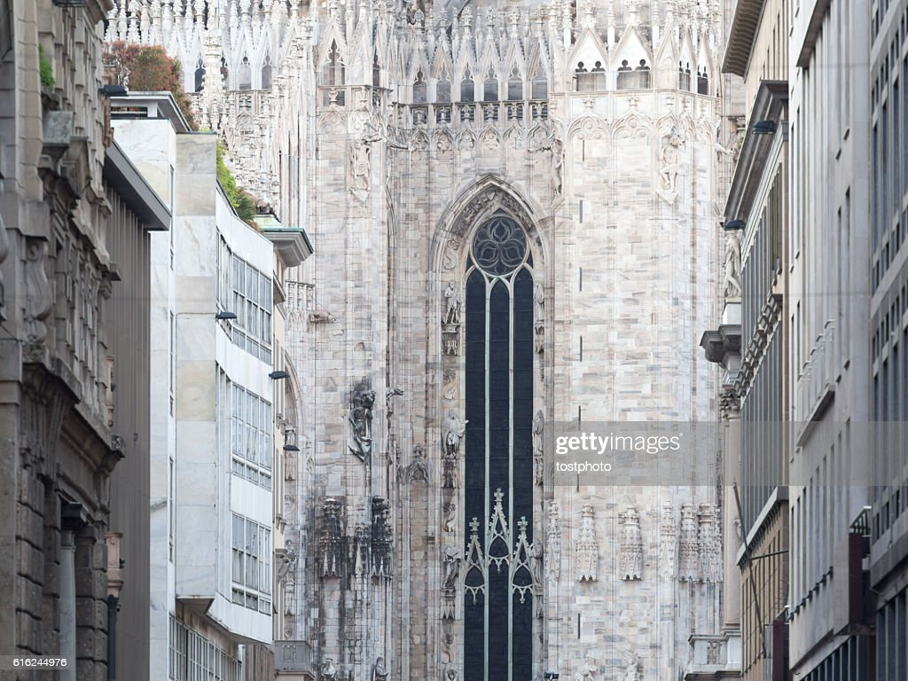 Mighty Duomo, Milan : Stock Photo