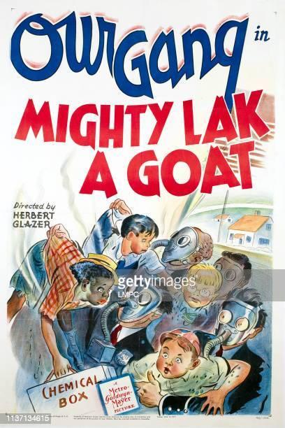 Mighty Lak A Goat poster Billie 'Buckwheat' Thomas Robert 'Mickey' Blake Billy 'Froggy' Laughlin George 'Spanky' McFarland 1942