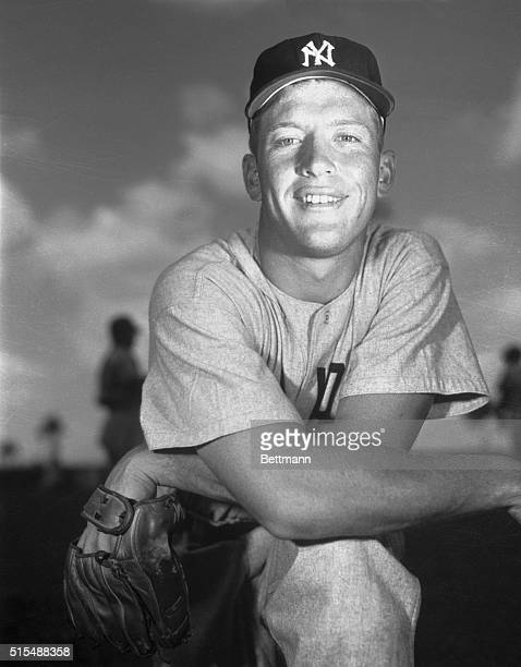 Mighty Mickey Mantle, the powerhouse of the New York Yankees, was named the American League's most valuable player for the second straight year,...