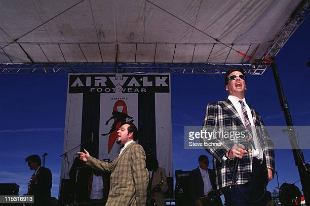 Mighty Mighty Bosstones during Board Aid Lifebeat Benefit 3151995 at Big Bear California United States