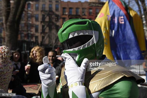 Mighty Morphin Power Rangers during annual NYC Idiotarod The 12th annual NYC Idiotarod saw contestants race their elaborately designed carts from...