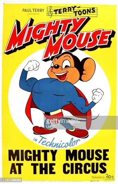 Mighty Mouse At The Circus poster Mighty Mouse 1943