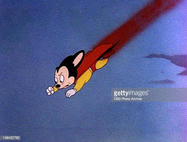 Mighty Mouse in the MIGHTY MOUSE episode Gypsy Life Original airdate August 3 1945 Image is a frame grab