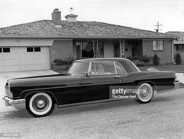 OCT 19 1955 A mighty nice gift is this 1956 Lincoln Continental Mark II which Lou Bell LincolnMercury dealer gave to his wife The car in addition to...