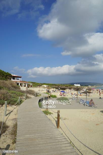 Migjorn beach Formentera Balearic Islands Spain