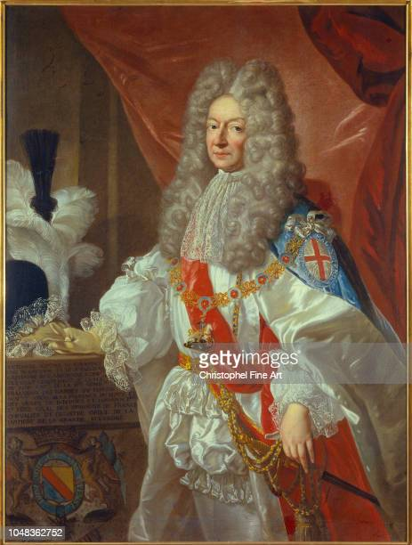 Mignard Pierre Portrait of Antonin Nompar de Caumont ÊDuke of Lauzun marshal of France and husband of the Grande Mademoiselle Museum of Fine Arts of...