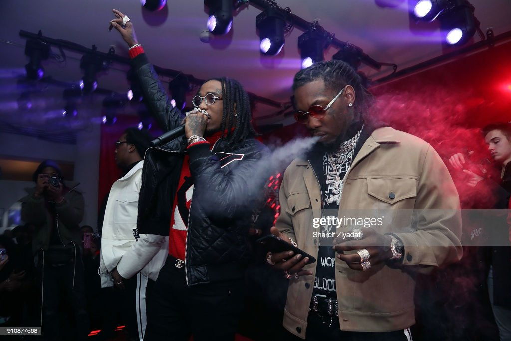 Beats x Migos x Grammy Event : News Photo