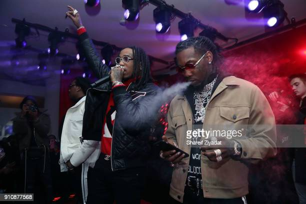 Migos attend Beats x Migos x Grammy Event at Milk Studios on January 26 2018 in New York City