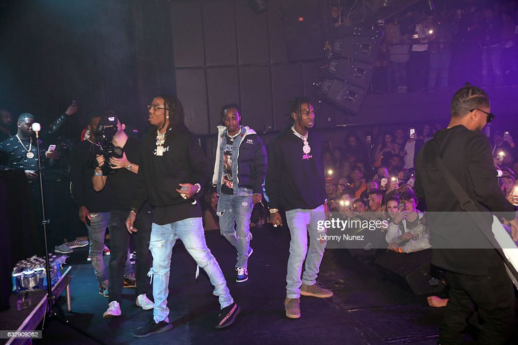Migos perform at Highline Ballroom on January 27, 2017 in New York City.