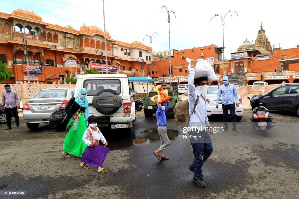 Coronavirus Emergency In India : News Photo