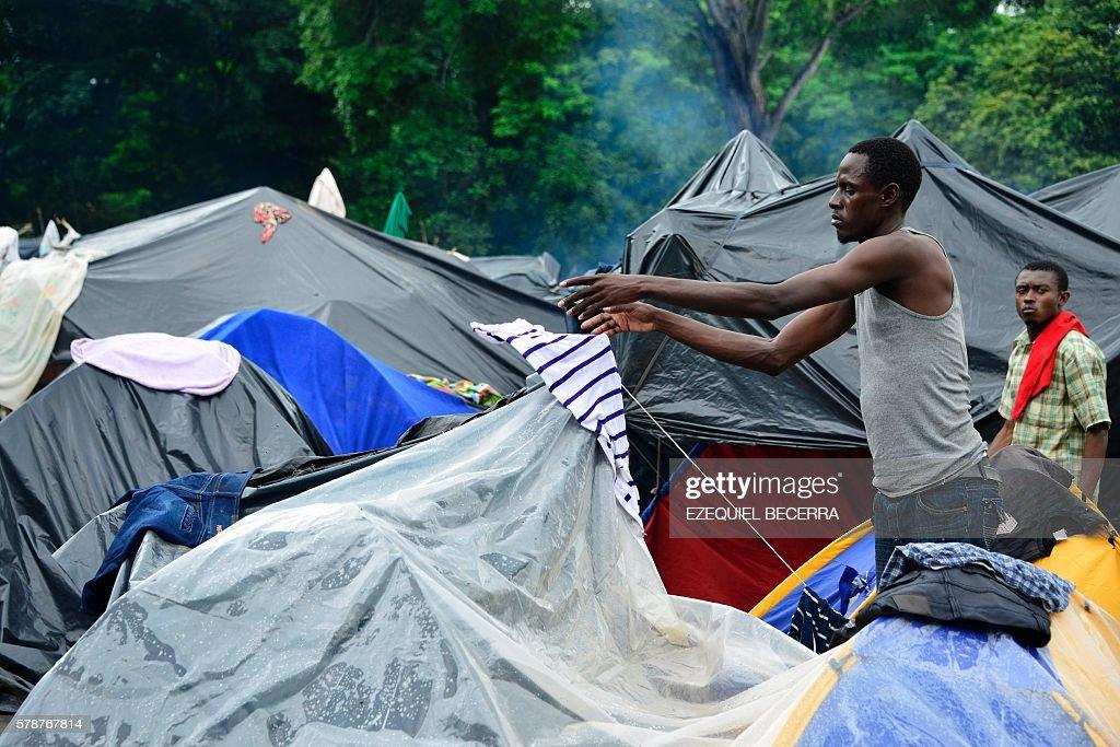 COSTA RICA-NICARAGUA-MIGRANTS : Nachrichtenfoto