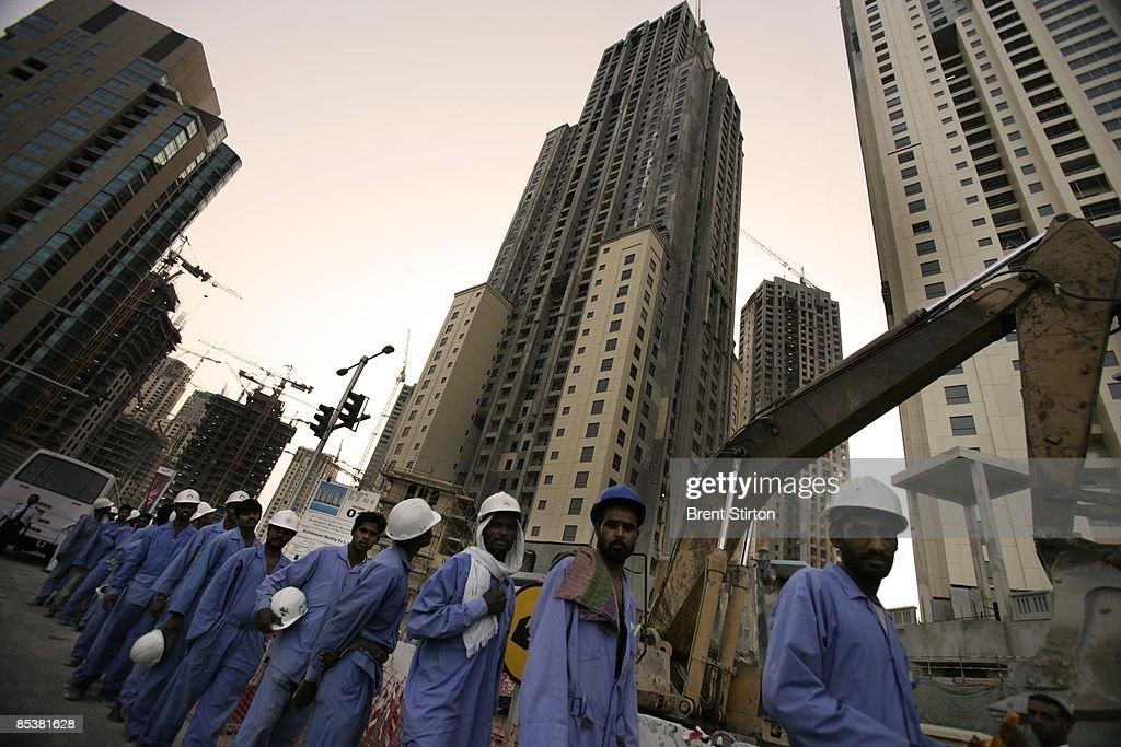 ARE: Migrant Labor Camps : News Photo