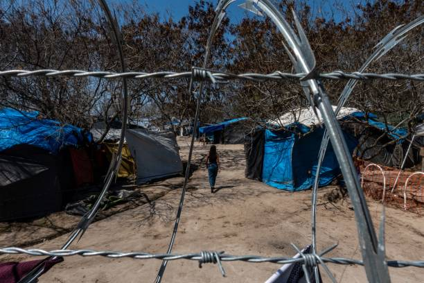 MEX: A Migrant Camp Empties As Biden Undoes Trump's 'Remain In Mexico' Policy