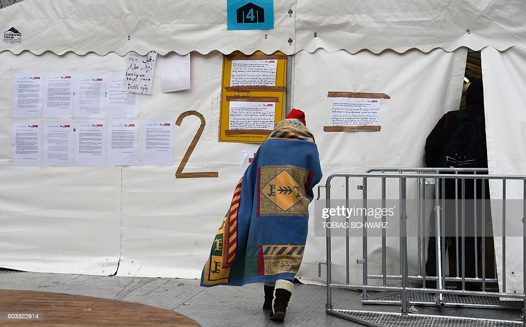 GERMANY-EUROPE-MIGRANTS-LAGESO : News Photo