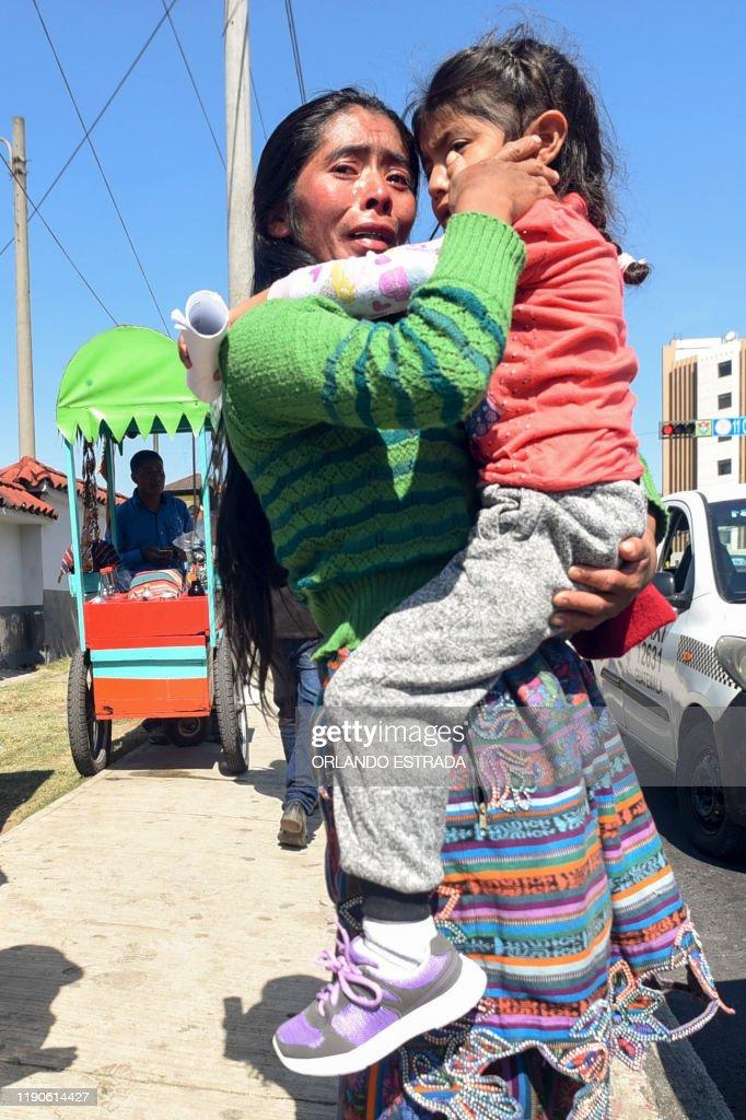 GUATEMALA-US-MIGRATION-DEPORTATION : News Photo