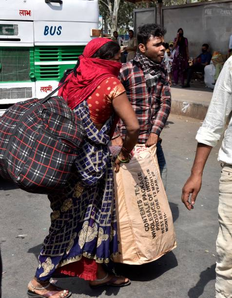 IND: Migrant Workers Returning Home Due To Covid-19 Restrictions
