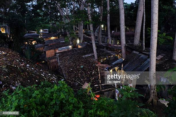 KANGIN PEJENG BALI INDONESIA A migrant workers camp at a building site near Pejeng many such shanty towns stay up even after the main project is...
