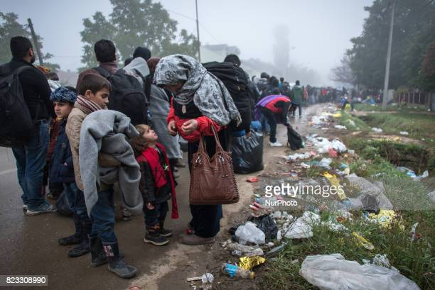 Migrants and refugees experienced coldweather and poor health conditions in Presevo Serbia when the socalled Balkan Route was open to informal...