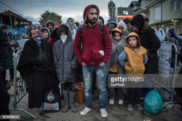 Migrants and refugees experienced cold-weather and poor health conditions in Presevo, Serbia, when the so-called Balkan Route was open to informal...