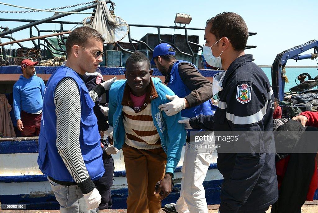 TUNISIA-ITALY-MIGRANTS : News Photo