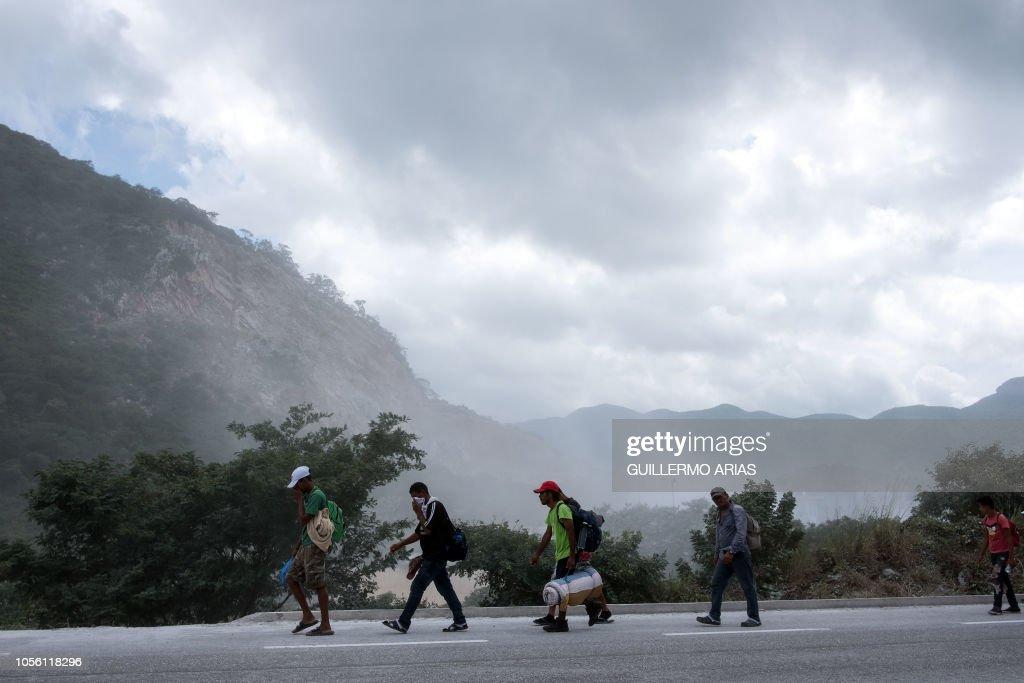 MEXICO-HONDURAS-US-MIGRATION : News Photo