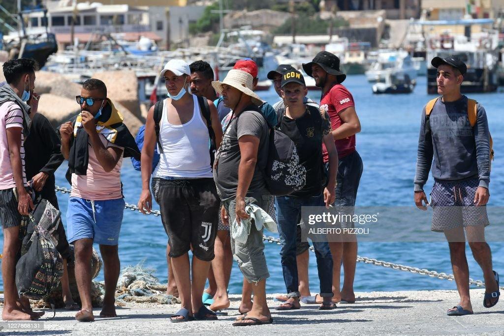 ITALY-EUROPE-MIGRANTS : News Photo