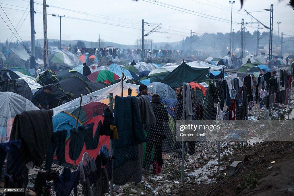 Migrants Running Out Of Options As Borders Remain Closed : News Photo