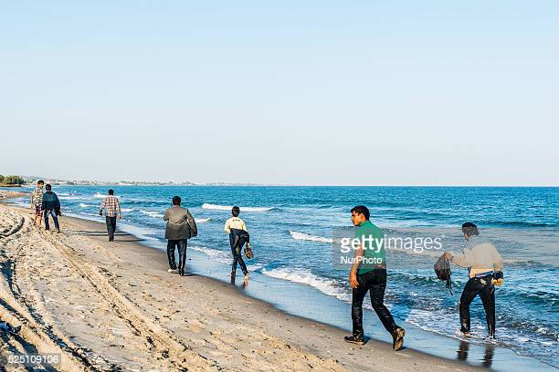 Migrants in Kos Island on August 30 2015 The EU is grappling with an unprecedented influx of people fleeing war repression and poverty in what the...
