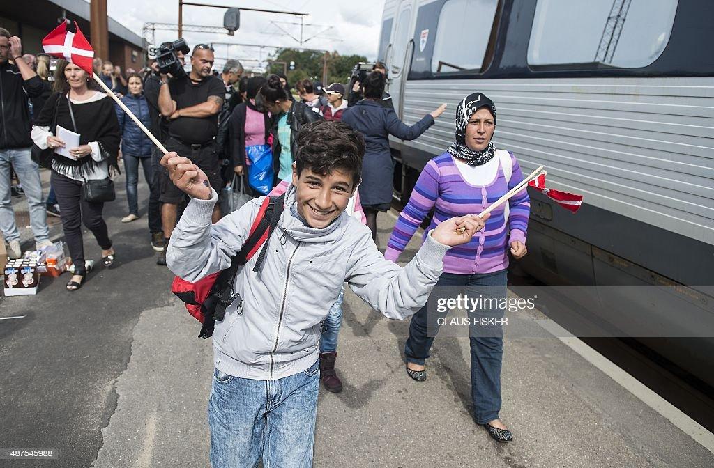 DENMARK-EUROPE-MIGRANTS : News Photo