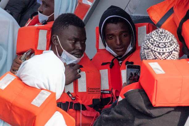 GBR: Migrants Attempt Final Channel Crossings Ahead Of Weather Change