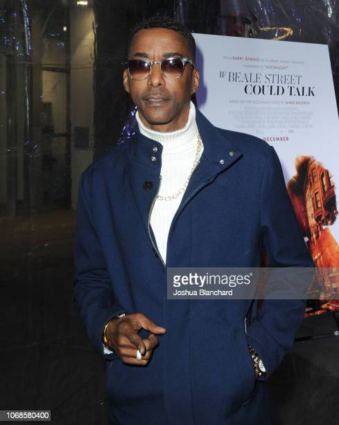 Miguel A Nunez Jr arrives at Los Angeles Special Screening Of Annapurna's If Beale Street Could Talk on December 4 2018 in Los Angeles California