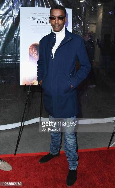 Miguel A Nunez Jr arrives at the Los Angeles Special Screening Of If Beale Street Could Talk at ArcLight Hollywood on December 4 2018 in Hollywood...