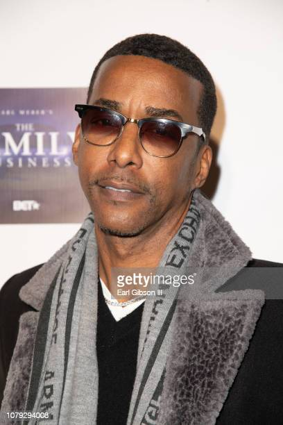 Miguel A Nunez Jr attends BET's The Family Business Special Screening at Ahrya Fine Arts Theater on January 7 2019 in Beverly Hills California