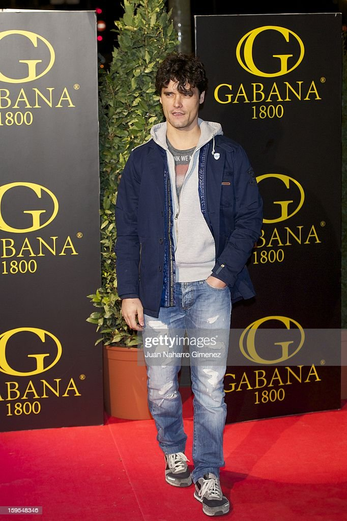 Miguel Abellan attends David Bustamante's dinner with friends at Gabana 1800 on January 15, 2013 in Madrid, Spain.