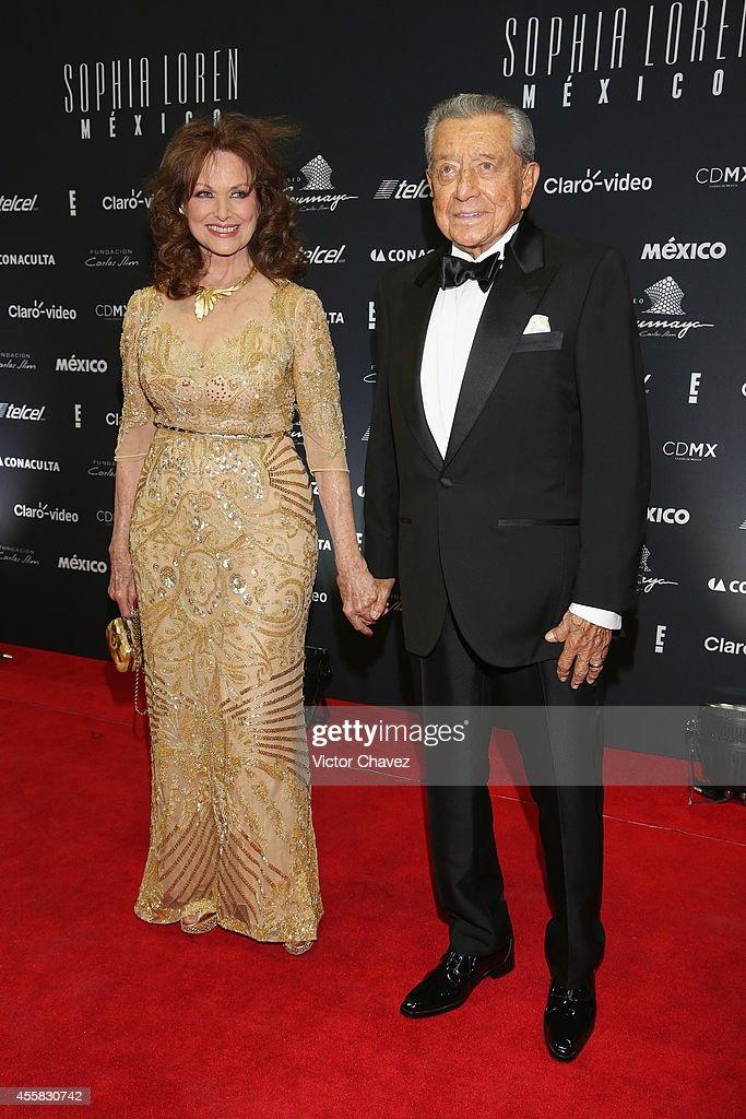 Sophia Loren Celebrates Her 80th Birthday In Mexico City - Red Carpet