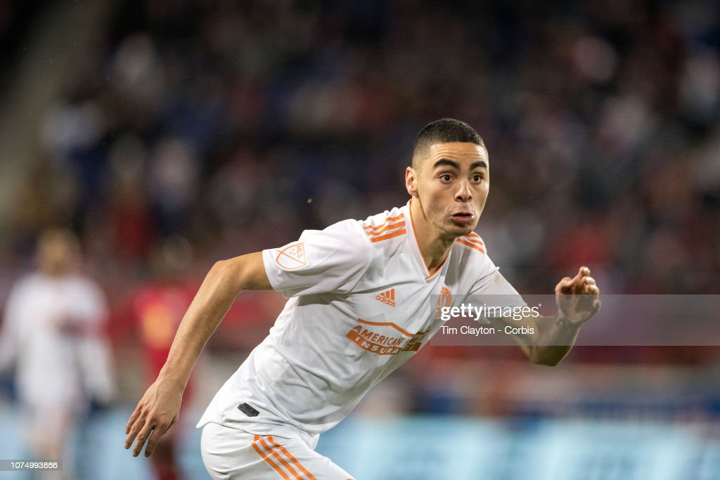 size 40 fb02f 10df9 Miguel Almiron of Atlanta United during the New York Red ...