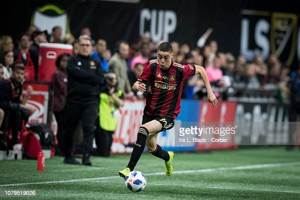Miguel Almiron Of Atlanta United Turns On The Speed During