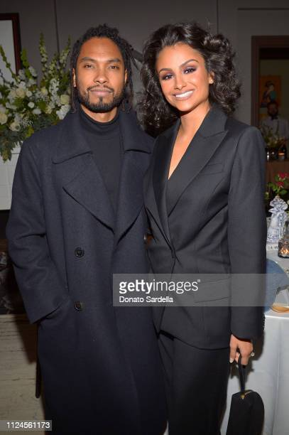 Miguel and Nazanin Mandi join MATCHESFASHIONCOM x Dr Woo in celebration of Frieze LA at Chateau Hanare on February 12 2019 in Los Angeles California